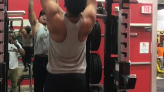 My work out video at gym