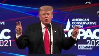 President Trump's FULL SPEECH at CPAC - 2021