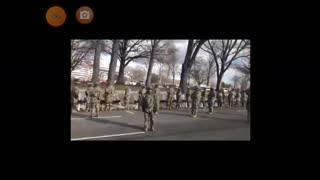 Military turn their back on Biden. Los militares le dan la espalda a Biden