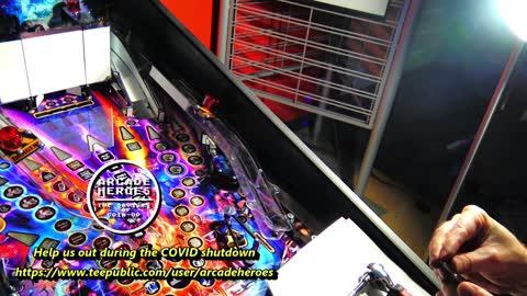 Let's Unbox & Install A Stranger Things Premium Pinball Game+UV Lighting Kit
