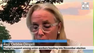 Trump's support among union workers heading into November election