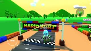 Mario Kart Tour - Mario Circuit 1R/T Gameplay (Mario Vs. Luigi Tour)