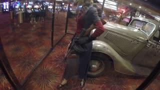 The original Bonnie and Clyde car.