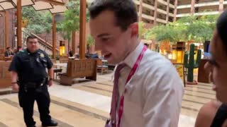 Salon Reporter Zachary Petrizzo Confronted By Elijah Schaffer At CPAC