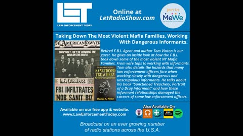 Taking Down The Most Violent Mafia Families, Working With Dangerous Informants.