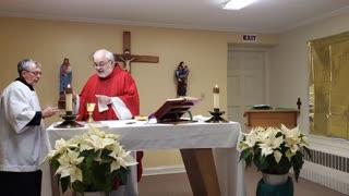 Mass on February 5, 2021