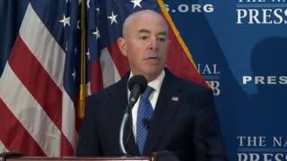 DHS Secretary Alejandro Mayorkas on Biden's record border crisis
