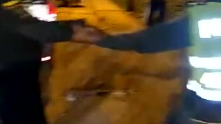 Accidente de tránsito en Villa Rosita