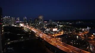 Toronto City Night Time Lapse
