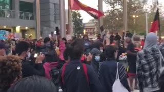 Perth Protest for #blacklivesmatter had 1.2k people.