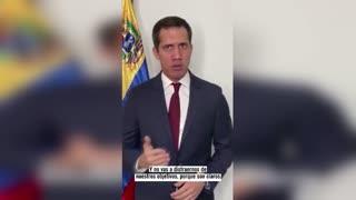 Guaidó pide una salida para Venezuela