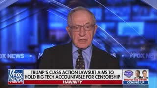 """Dershowitz on Hannity: """"The First Amendment Is On Trial"""""""