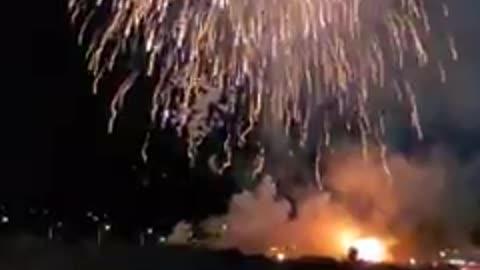 Fireworks at the Avi in Laughlin Nevada