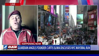 Curtis Sliwa, Guardian Angels Founder, Discusses NYC Mayoral Run