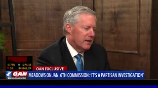 Fmr. Chief of Staff Meadows on Jan. 6 commission: 'It's a partisan investigation'