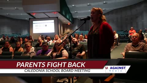 Parents face off with Caledonia School Board