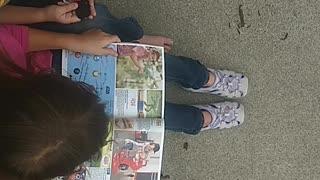 What I saw kids and Christmas magazine
