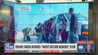 """Trump Calls Biden """"Bernie On Steroids"""" During Epic Interview"""