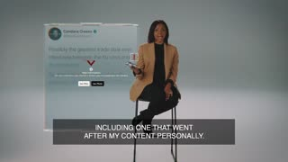 Candace Owens Message on Censorship