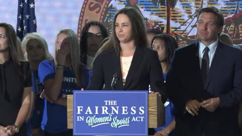 Trinity Christian Press Conference on Fairness in Women's Sports 6/1/21 Clip 03