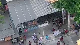 [Video] Alteraciones de orden público en Bocagrande