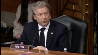 """Rand Paul - """"We can't just say it didn't happen."""""""