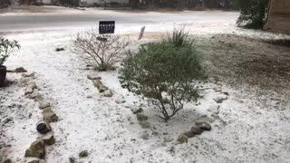 SNOWS 2 DAYS AFTER CHEMTRAILS SPRAYED TX