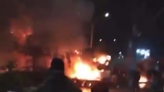 Videos de la fuerte explosión en Cali