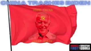 China trashes Biden. Gordon Chang on AMERICA First with Sebastian Gorka