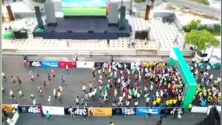 A Lot People On Street
