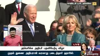 Joe Biden sworn-in 46th president of America