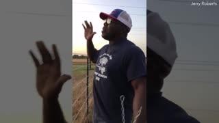Man Shares Inspirational Message On Black Lives Matter