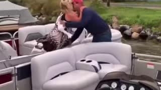 Boat Proposal Fail.
