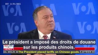 Pompeo : Les menaces du PCC pour le monde