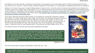 When Cometh... The Bible's Secret Calendar - Hidden Prophecies in the Psalms