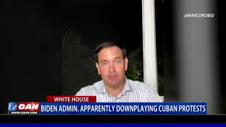 Biden admin. apparently downplaying Cuban protests