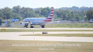Afternoon plane spotting at St. Louis Lambert Intl September 25, 2020