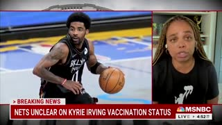 """Ignorant CNN Guest Says The Nets' Kyrie Irving Is """"Endangering"""" The Black Community"""