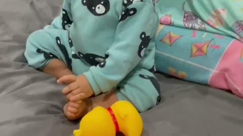 Eating Sleeping and playing baby