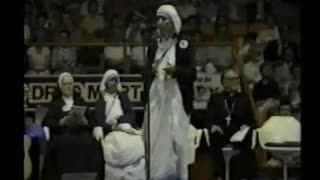 Blessed Mother Teresa of Calcutta visit to Canada II speaks about abortion