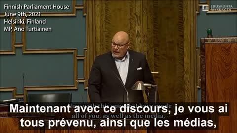 Parlement Finlandais - Quand la lumière de la vérité transperce la brume de la mondialisation !