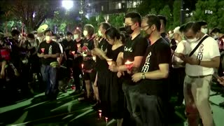HK activists plead guilty over 'illegal assembly'