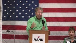Senator Rand Paul Speaking Event in California
