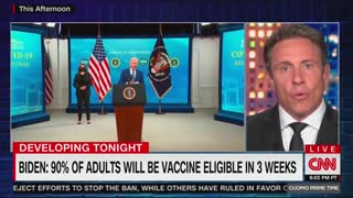 Chris Cuomo Calls Wearing Masks A 'Question Of Allegiance'