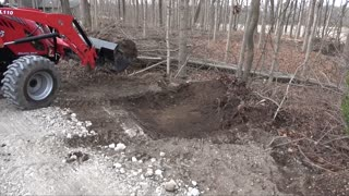 Using Mechanical Advantage to Remove Tree stumps or Large Shrubs!