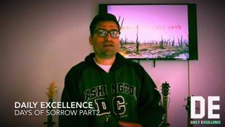 Days Of Sorrow Part 2 By Pastor Anthony