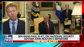 Rand Paul: Bolton was working against Trump