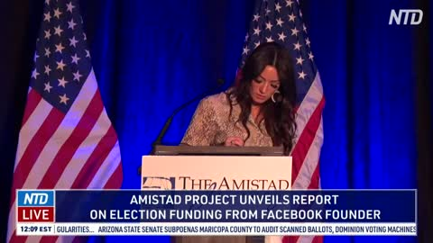 Press Conference: Amistad Project unveils report on election funding From Facebook