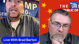 Live with Brad Barton!!!
