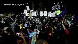 Protestas en Portland contra el racismo y la brutalidad policial